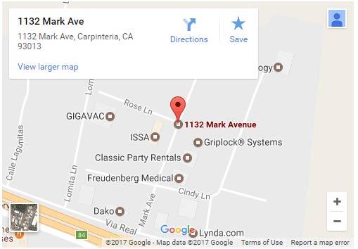 griplock systems location map