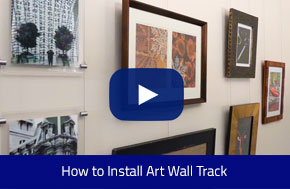 How to Install Art Wall Track