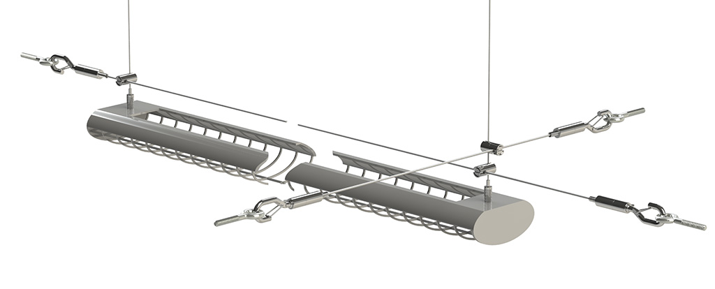 lighting seismic bracing