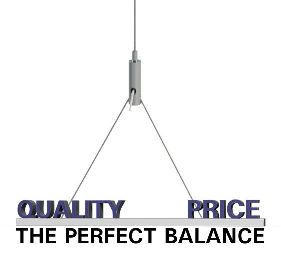 balance of quality and price