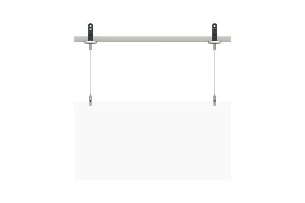 covid 19 t-bar hanging panel sneeze guard